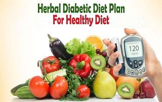 Herbal Diabetic Diet Plan For Healthy Diet
